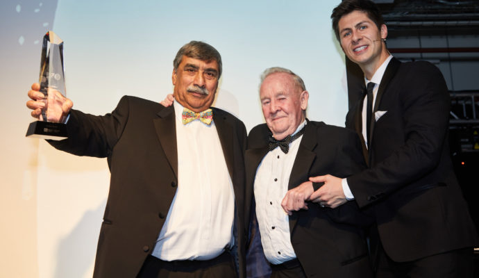Nadeem Shah with Tony Phillips and Ben Hanlin